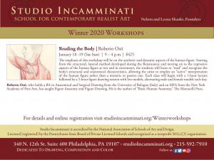 Reading the Body | Roberto Osti @ Studio Incamminati