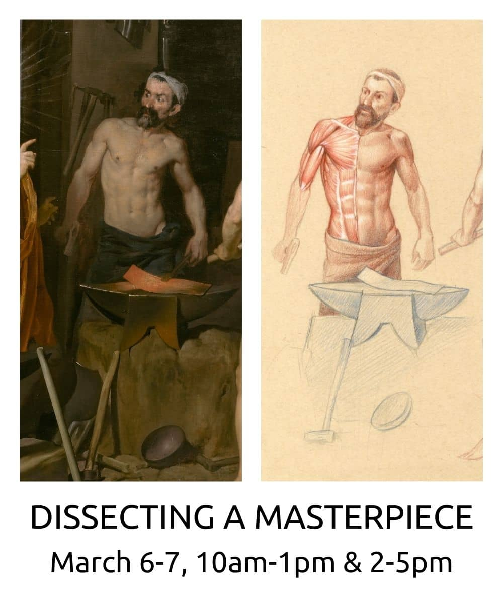 dissecting a masterpiece workshop spring 2021 roberto osti drawing new renaissance atelier