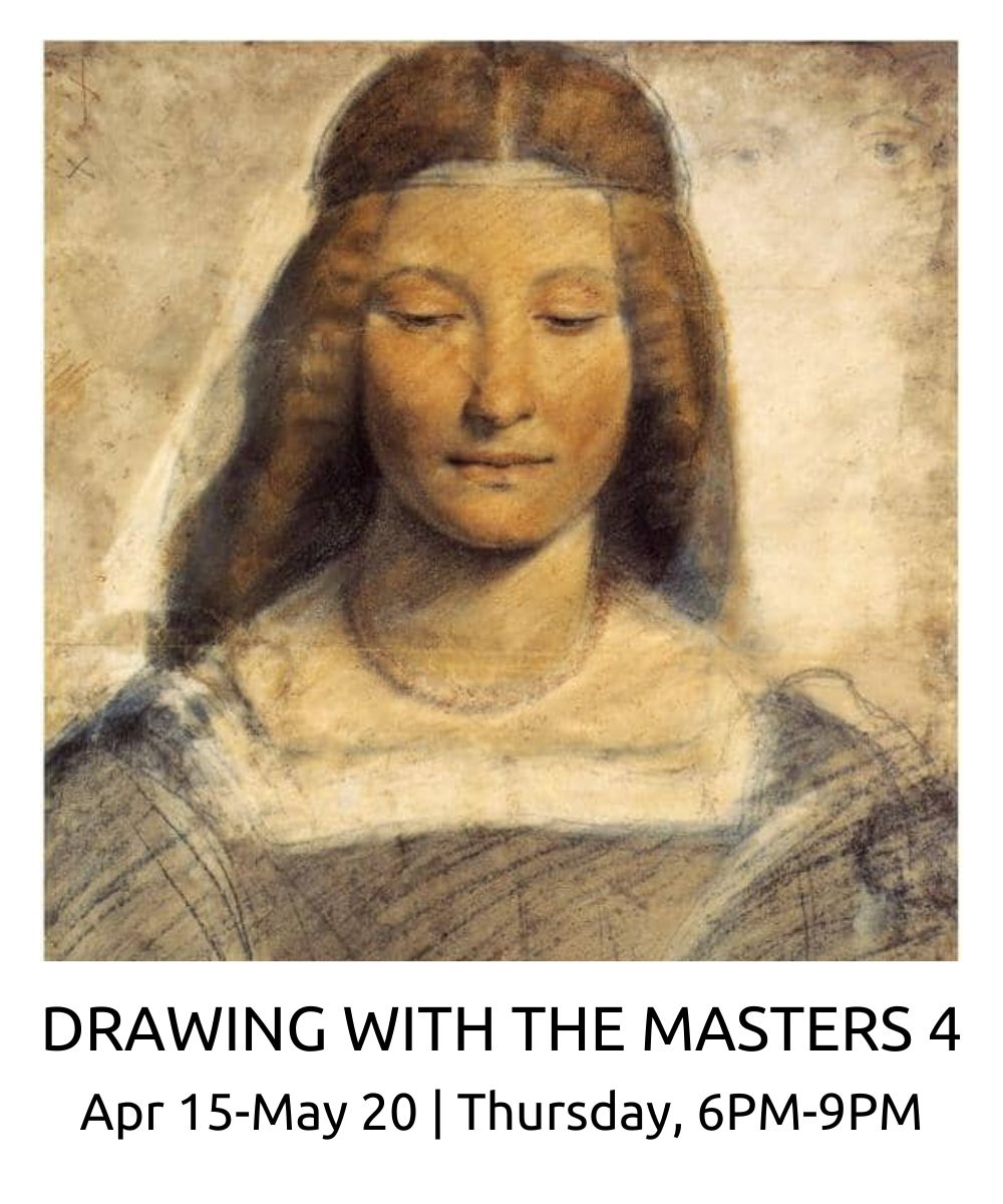 drawing with the masters 4 2021 roberto osti new renaissance atelier april 13 May 18