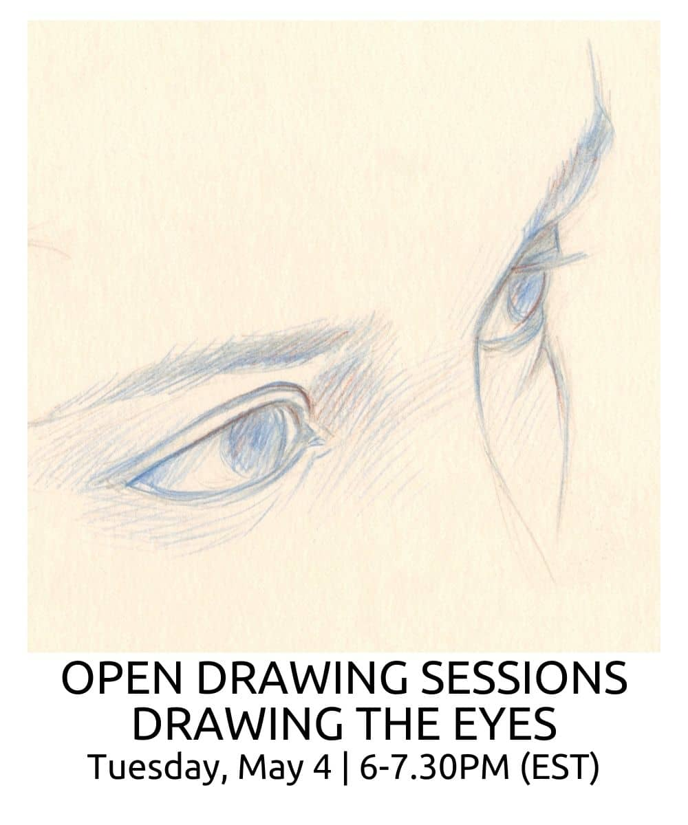 OPEN DRAWING SESSIONS DRAWING THE EYES ROBERTO OSTI DRAWING NEW RENAISSANCE ATELIER (1)