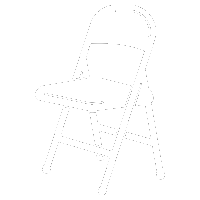 lightweight foldable chair icon