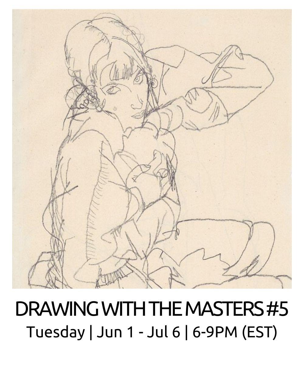 roberto-osti-drawing-drawing-masters-5-egon-schiele-6-9pm