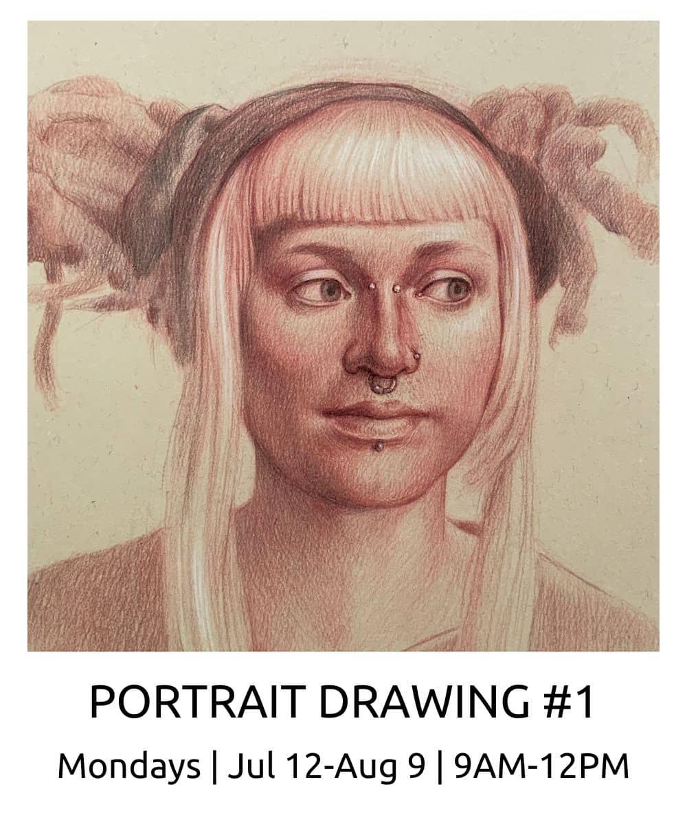 Portrait Drawing #1 ROBERTO OSTI DRAWING NEW RENAISSANCE ATELIER (1)