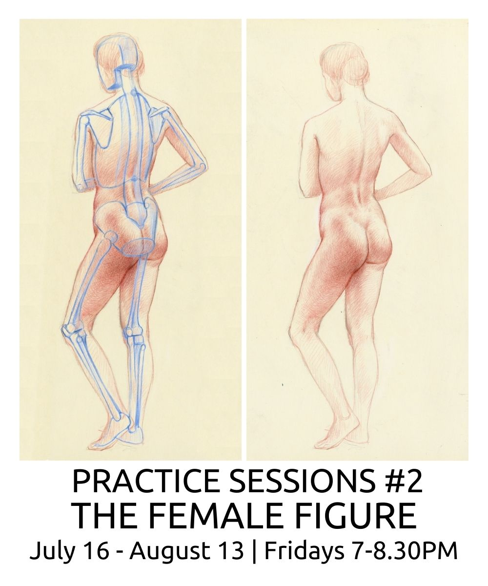Practice Sessions 2 the female figure roberto osti drawing fridays