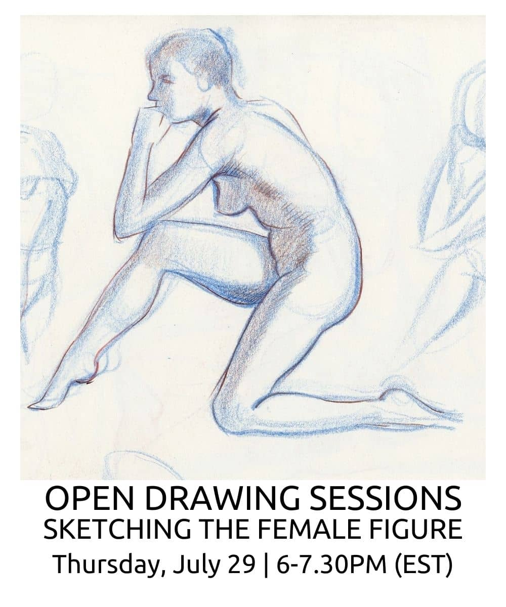 OPEN DRAWING SESSIONS 13 Sketching the Female figure ROBERTO OSTI DRAWING NEW RENAISSANCE ATELIER (1)