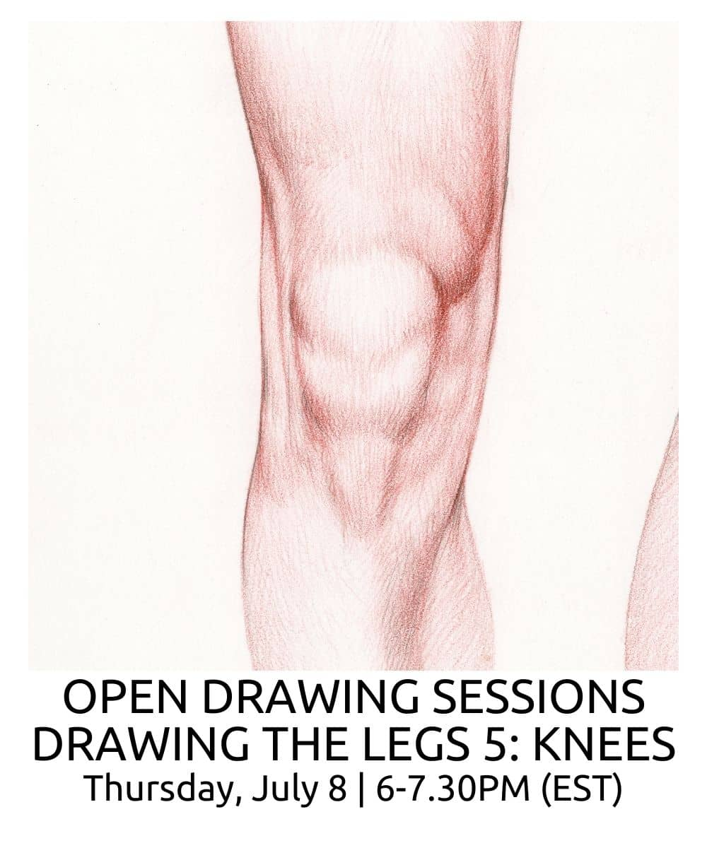 OPEN DRAWING SESSIONS DRAWING THE LEGS part 5 ROBERTO OSTI DRAWING NEW RENAISSANCE ATELIER (1)
