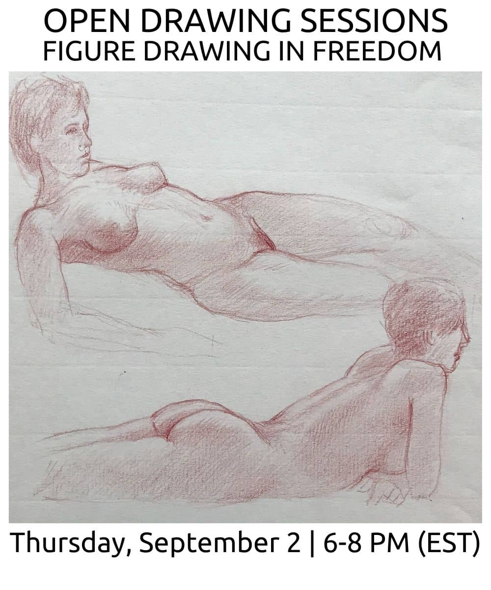 open drawing sessions 17 Fall 2021 ROBERTO OSTI DRAWING NEW RENAISSANCE ATELIER (2) (1)