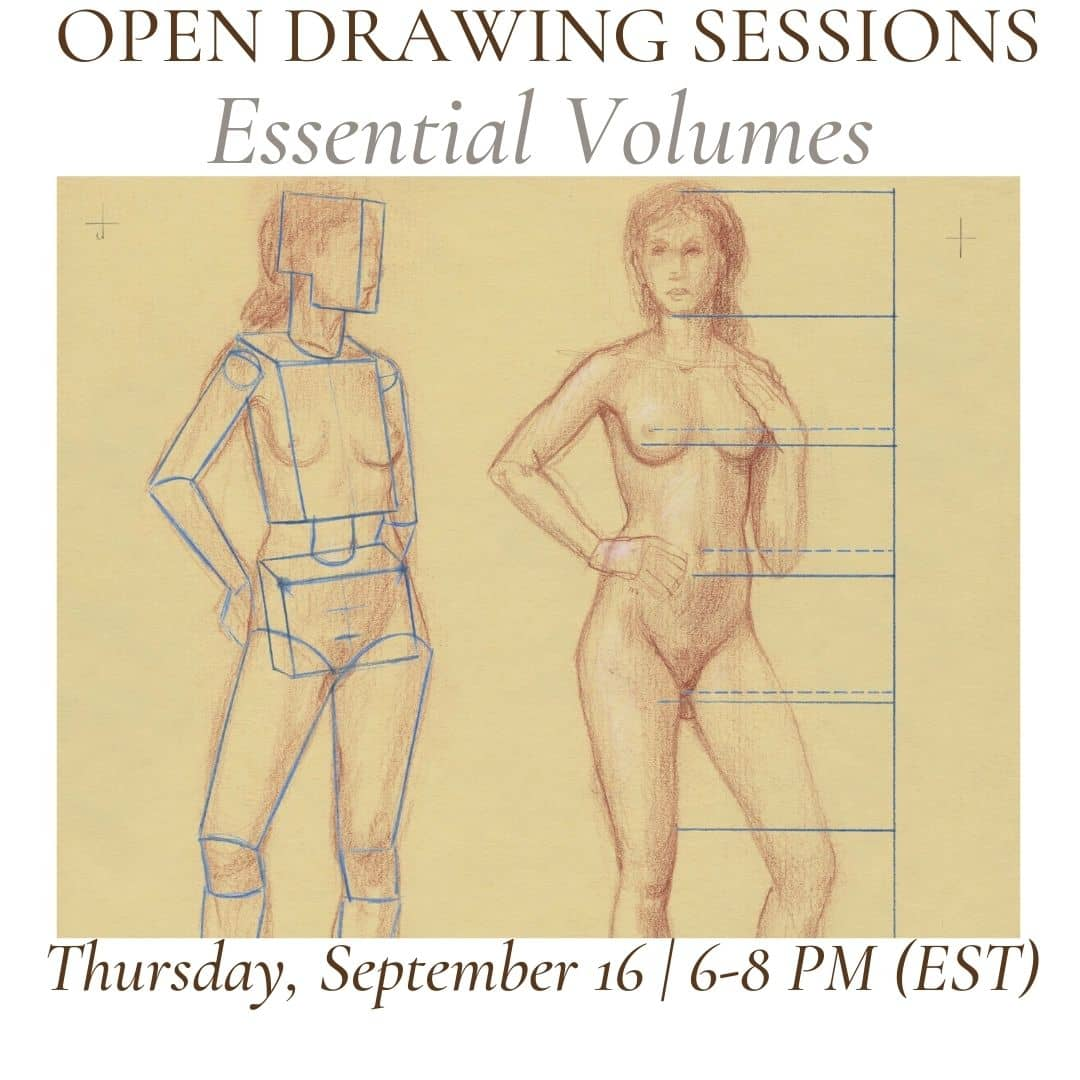 Open Drawing Session #19 Essential Volumes (1)