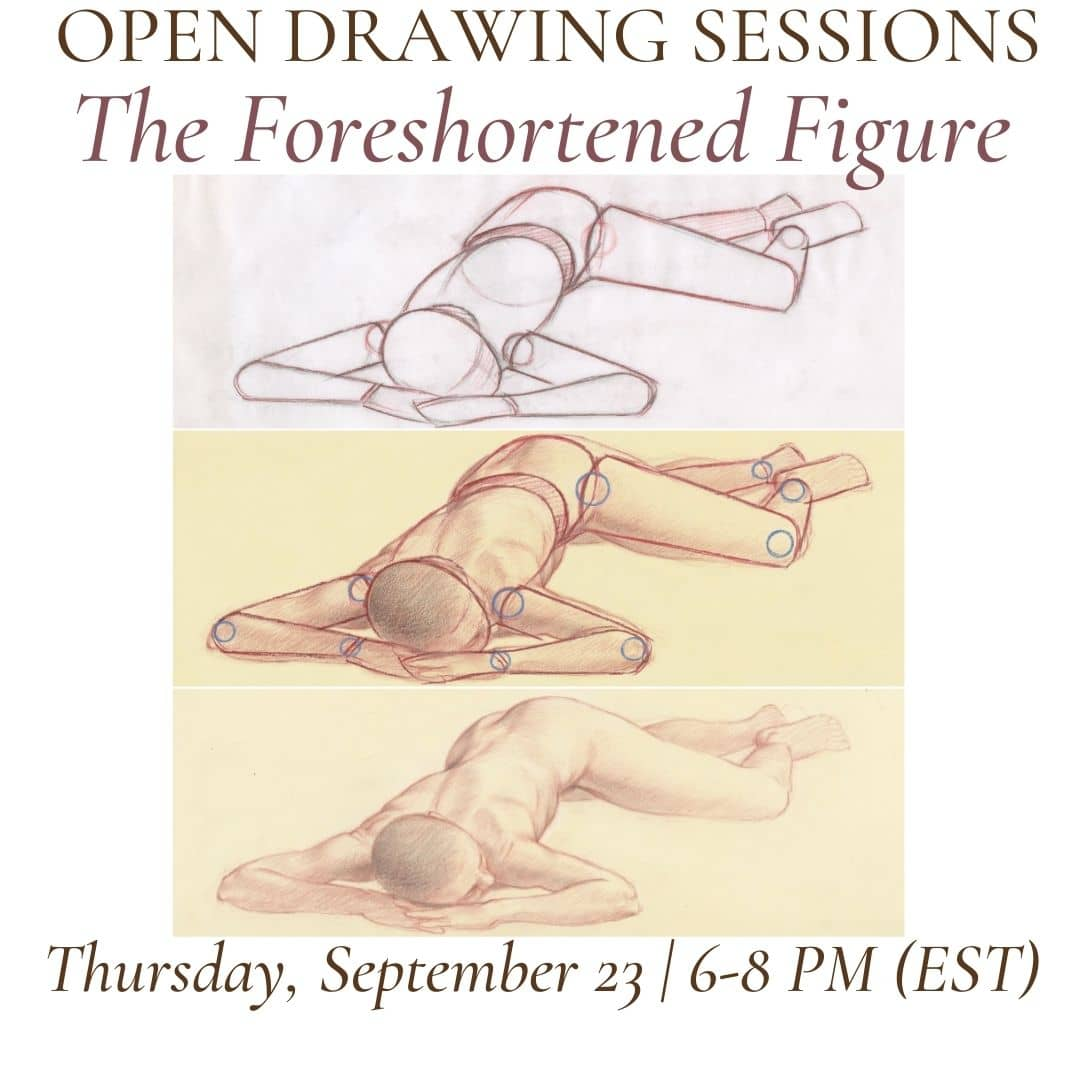Open Drawing Sessions #20 The Foreshortened Figure (2) (1)