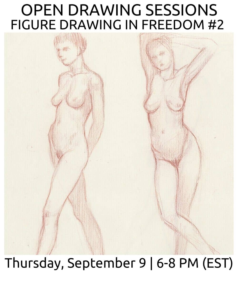 open drawing sessions 18 Fall 2021 ROBERTO OSTI DRAWING NEW RENAISSANCE ATELIER (1)